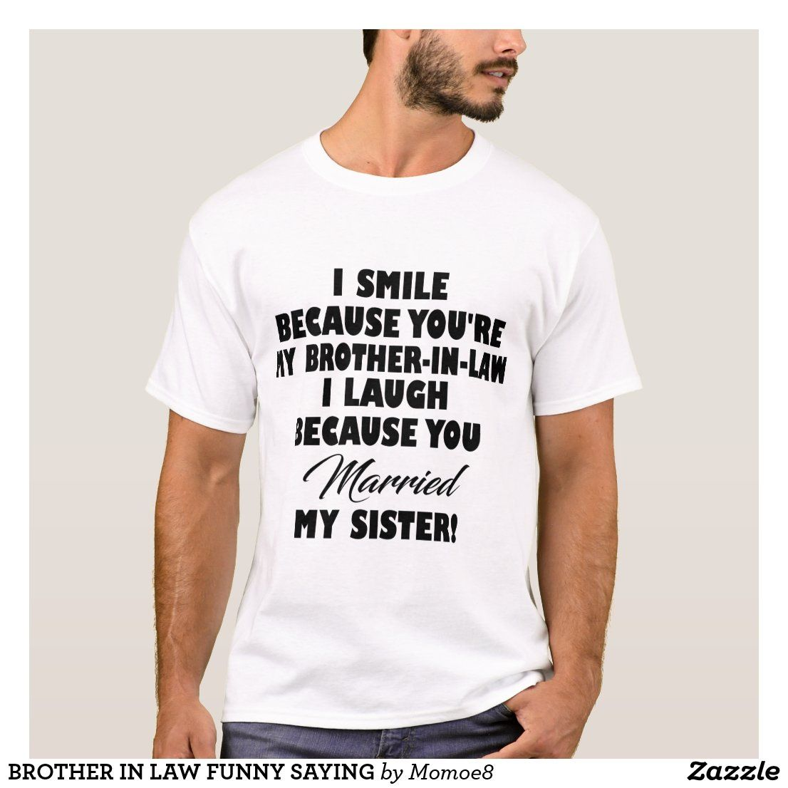 Brother in law funny saying tshirt gamer t