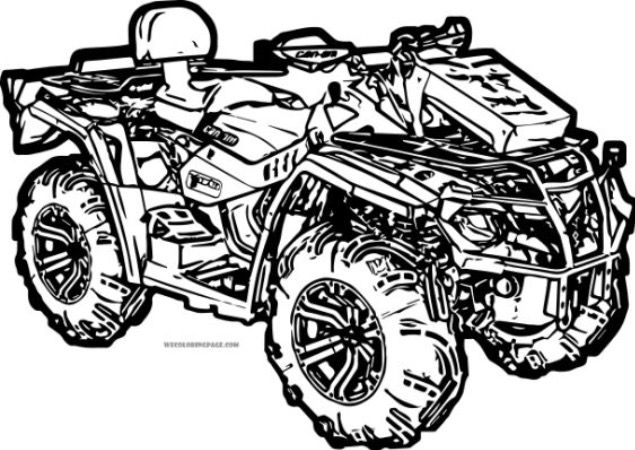 Quad Coloring Pages Free Coloring Pages Coloring Pages Truck Coloring Pages