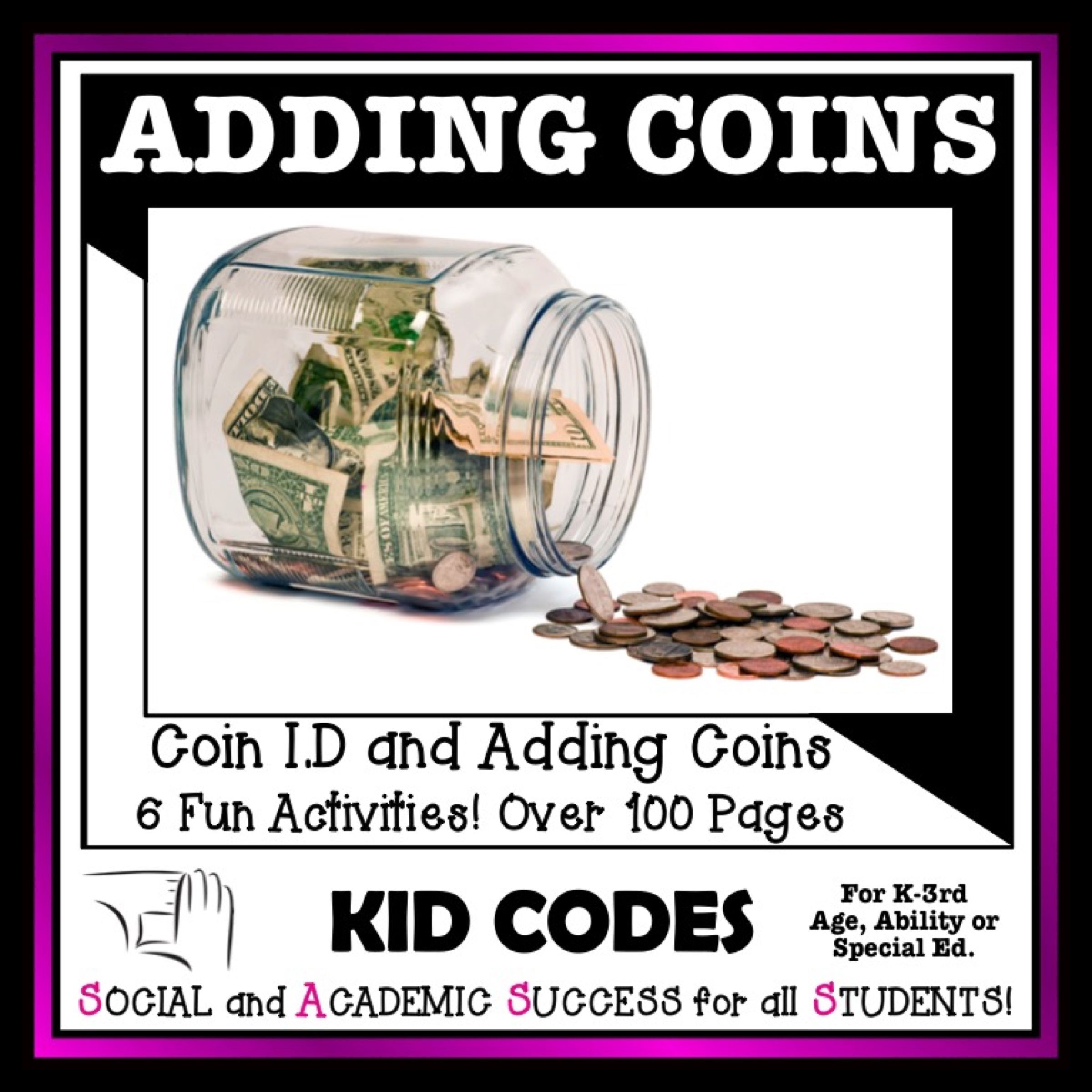 Adding Coins Printable Worksheets For Automaticity