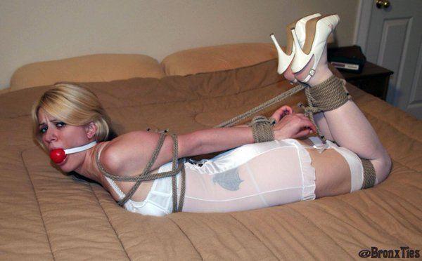 Panties girdle slip bondage