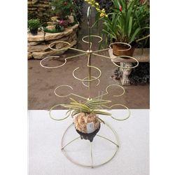 "Neofinetia double tier wire hanger 'Rankake' holds 12 plants  <span class=""cross""></span>"