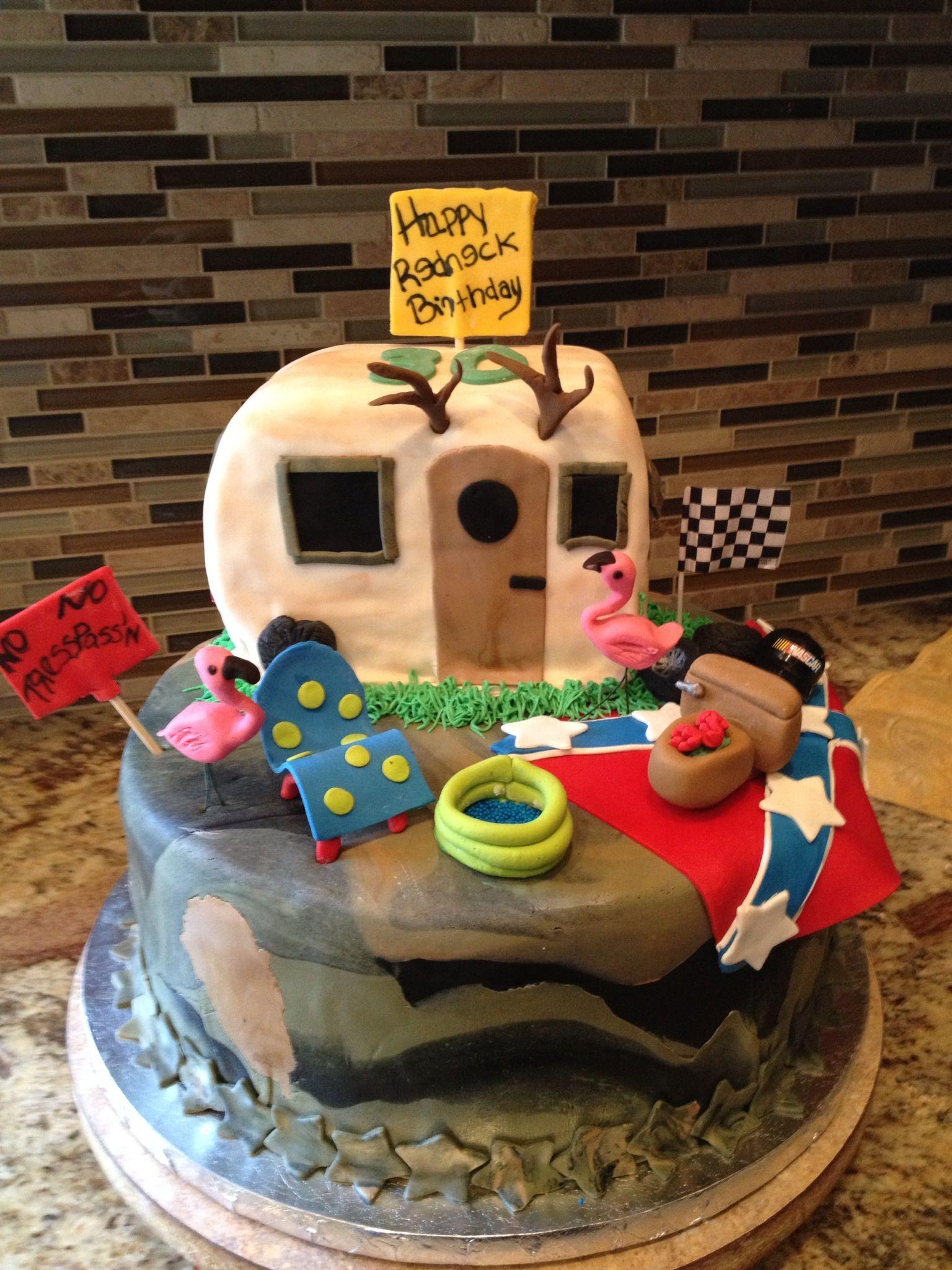 Redneck Birthday Cake Cakes Pinterest Redneck