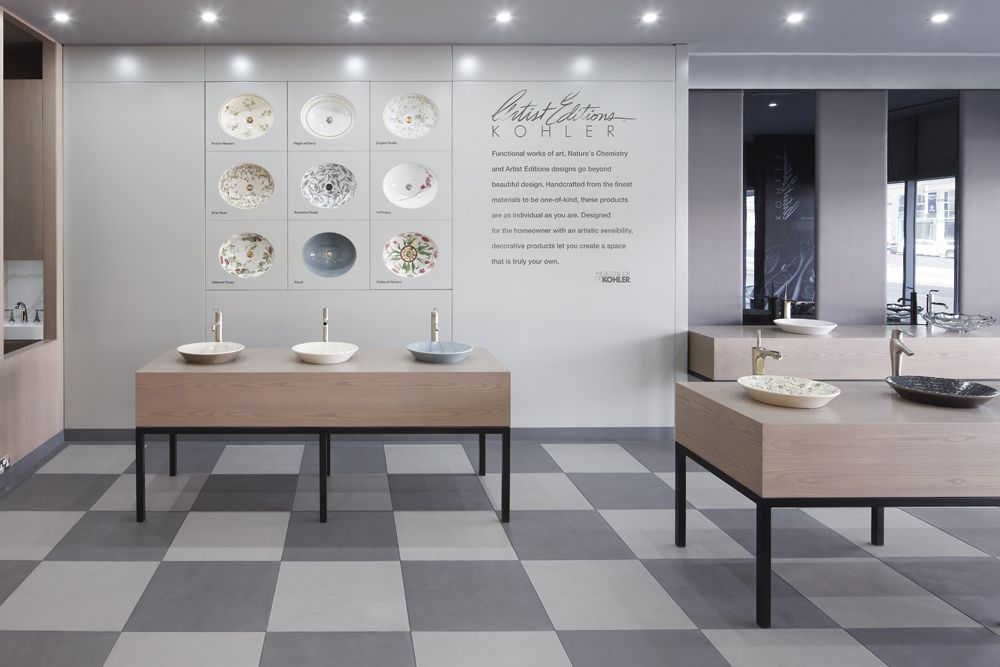Kohler Dubai showroom designed by Harvey Langston-Jones. http://www ...