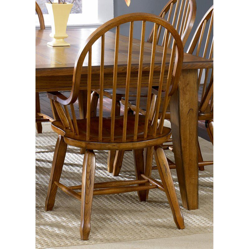Liberty furniture industries treasures bow back windsor