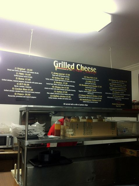 Grilled Cheese at the Melt Factory, Morristown, New Jersey