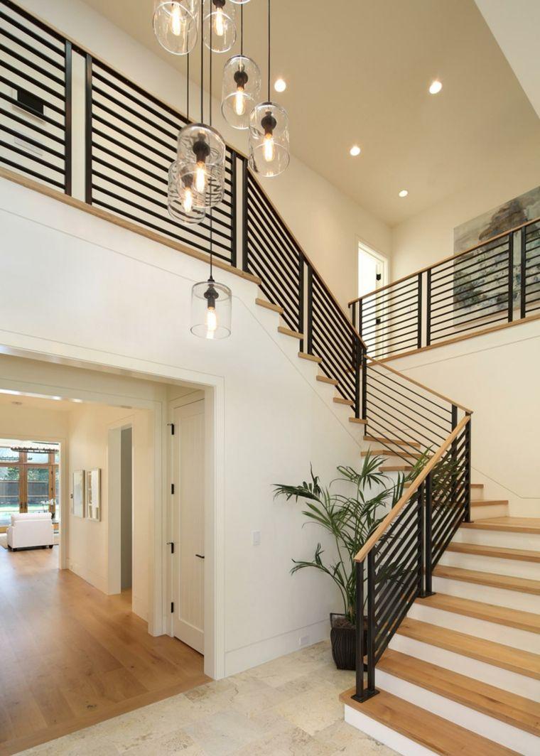 Escalier int rieur quelques id es d 39 clairage moderne clairage moderne escaliers et int rieur for Escalier interieur moderne