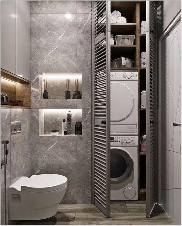 ↗30 + Waschküche Ideen maximieren Ihr kleines Zuhause und machen das Leben ein wenig einfacher ... - New Ideas #laundryrooms