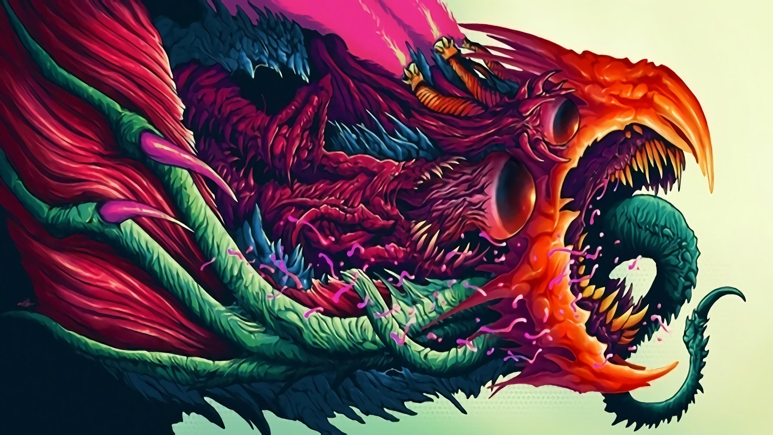Hyper Beast 2 2560x1440 2560x1440 Wallpaper Arte Bizarro Arte De Videojuegos