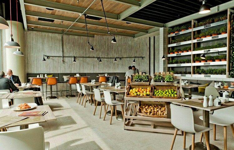 Deco champêtre restaurant | Déco café et restaurant | Pinterest