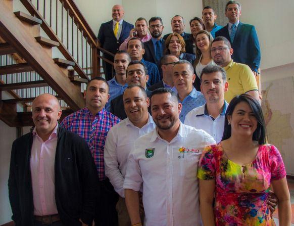 Alcalde Fernando Muñoz comprometido con el Paisaje Cultural Cafetero Colombiano