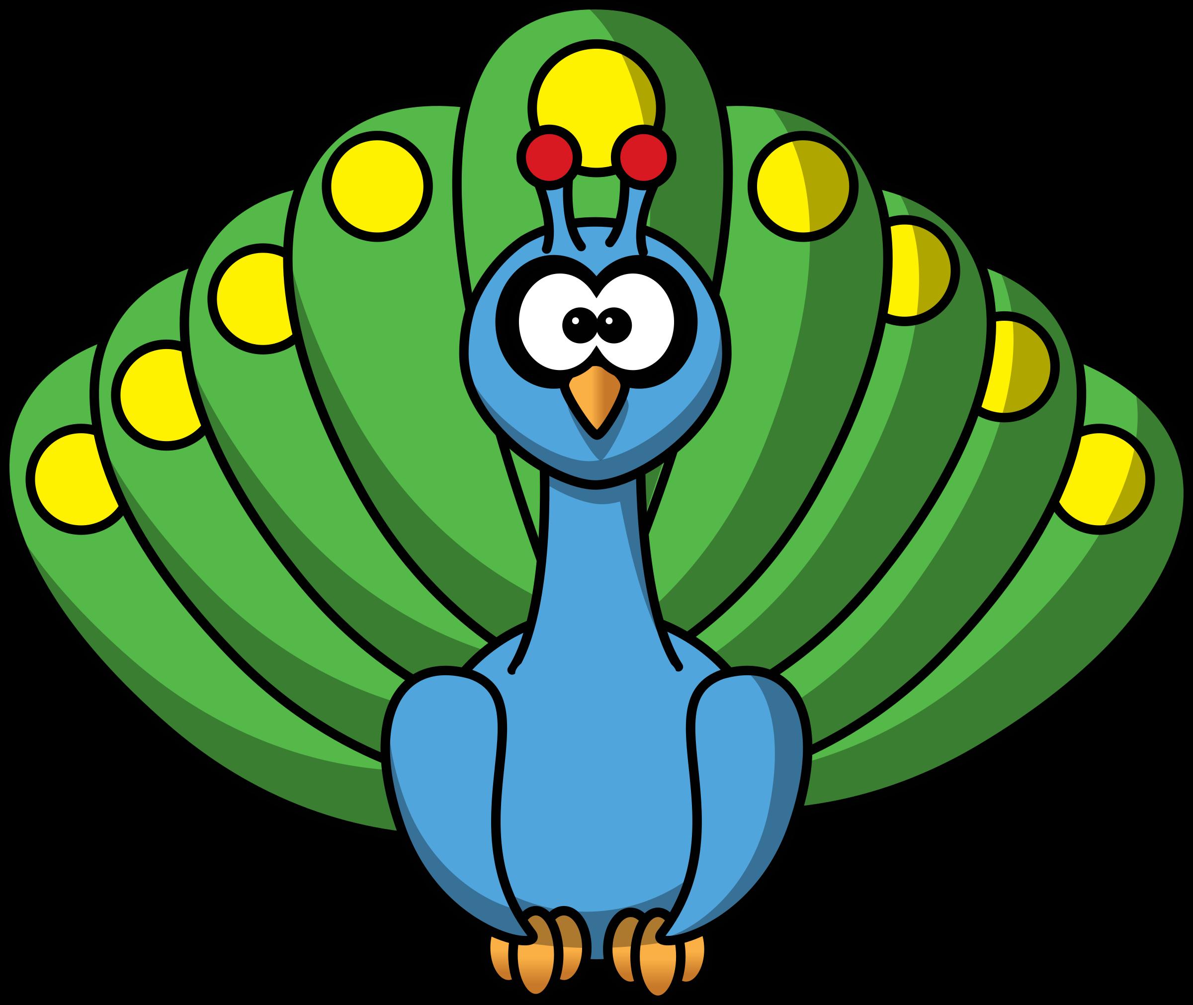 cartoon peacock by studiofibonacci clip art pinterest peacock rh pinterest co uk peacock clipart images peacock clipart free