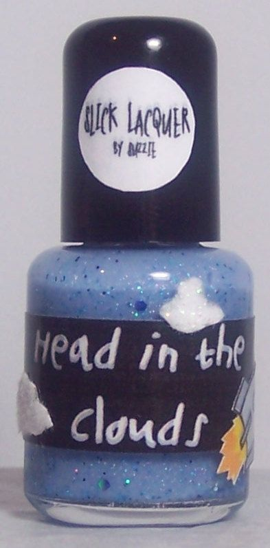 Head in the Clouds Nail Polish MINI by SlickLacquer on Etsy, $5.50 Indie Nail Polish