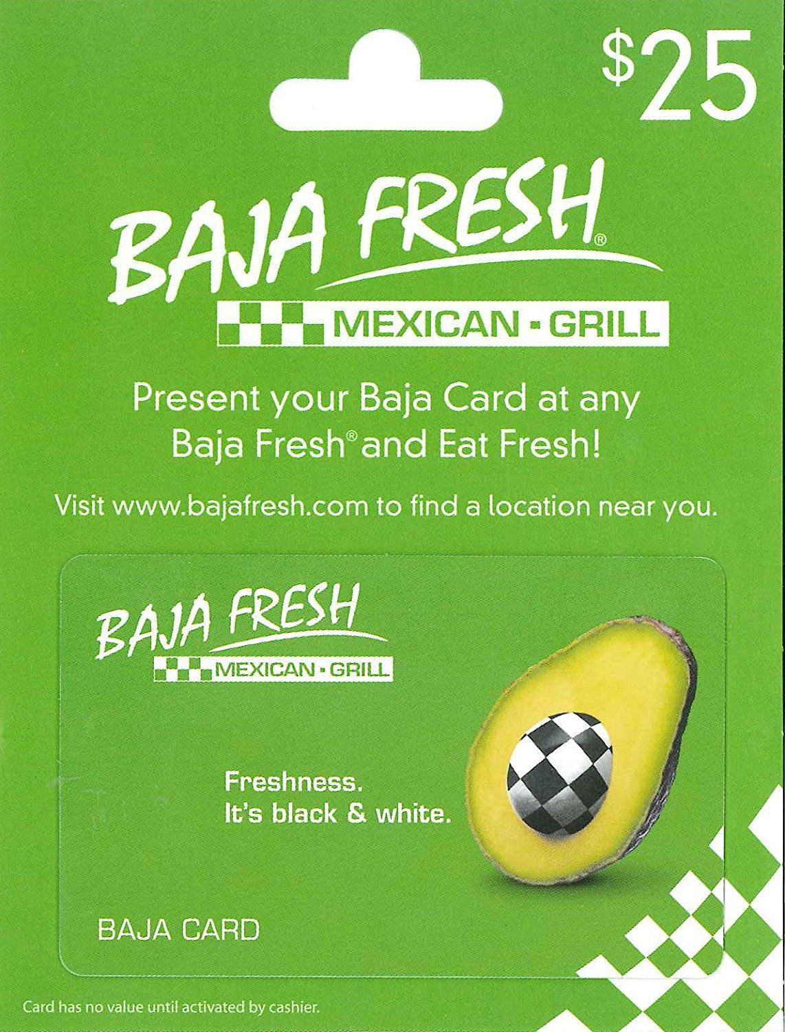 Baja Fresh Gift Card ** Awesome product. Click the image