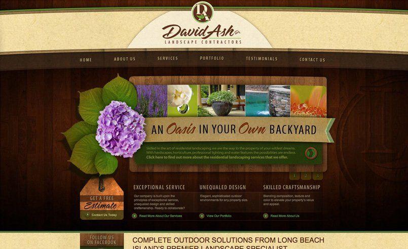 Professional Services Kickcharge Creative Web Design Portfolio Web Design Outdoor Solutions