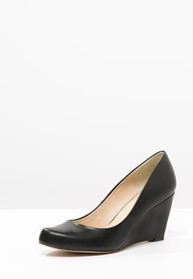 Anna Field Czolenka Na Koturnie Black Zalando Pl Wedges Shoes Fashion