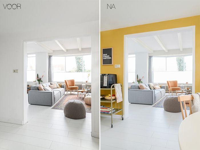 Huis inrichten  Welke kleur geef je de keukenmuur