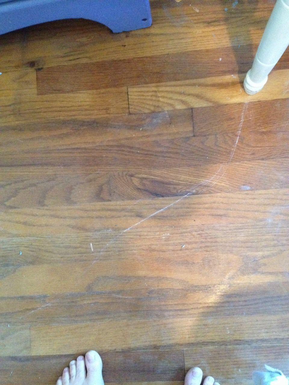 Scratched Wood Floors