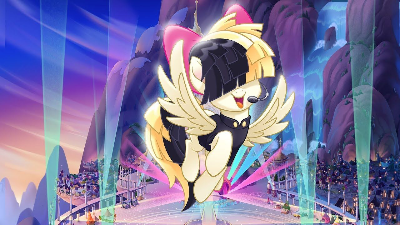 Sia Rainbow From My Little Pony The Movie Pmv My Little Pony
