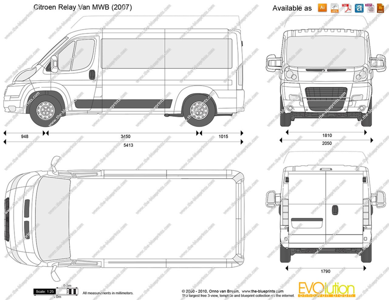 Image Result For Citroen Relay Dimensions Mwb
