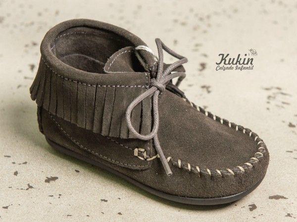2a3835532 botas niño - calzado infantil online - zapatería infantil - botas gris niño