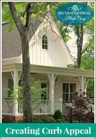 Exterior Home Ideas - Creating Colorful Curb Appeal | decorating ...