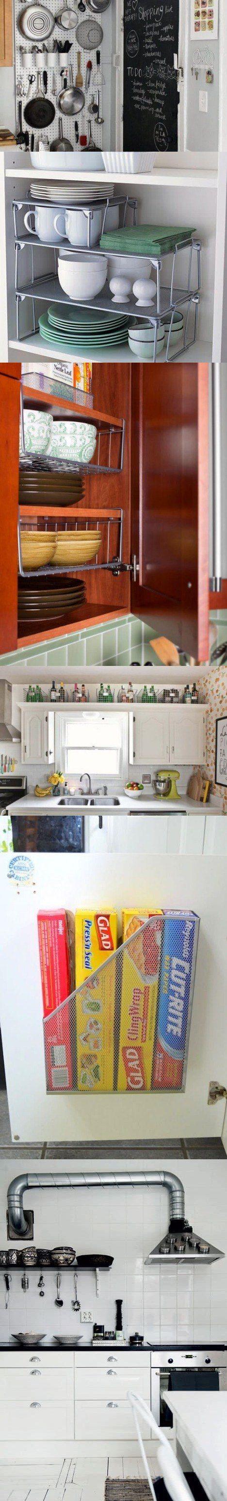 ideas-para-organizar-una-cocina-pequena-2 | Cocinas | Tu Casa Bella ...
