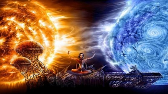 Adamu The Pleiadian The False Political Dichotomy Of Left Versus Right Fire And Ice Fire And Ice Wallpaper Twin Flame Art Astonishing fire and ice wallpapers