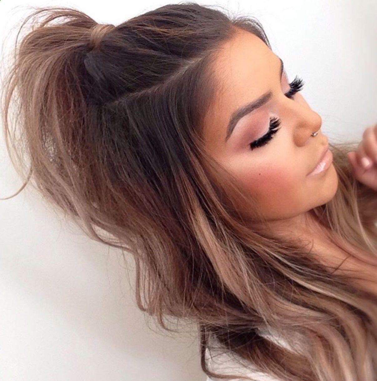 39 Gorgeous #HalfUpHalfDown #Hairstyles - #Hairstyle #cutehairstylesformediumhair
