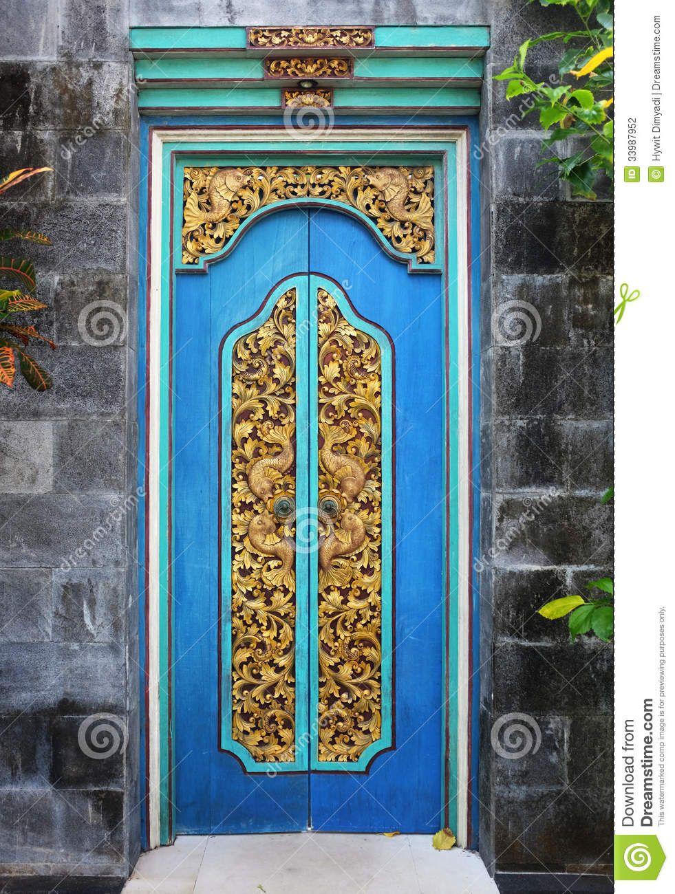 Bali Wood Carved doors & Bali Wood Carved doors   Wanderlust   Pinterest   Bali indonesia ... Pezcame.Com
