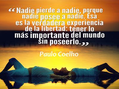 No soy para nada fan de Coelho pero tiene razón