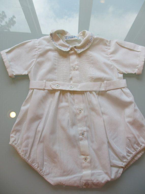f7d457b2c84b Vintage Baby Boy Romper - 9 Months