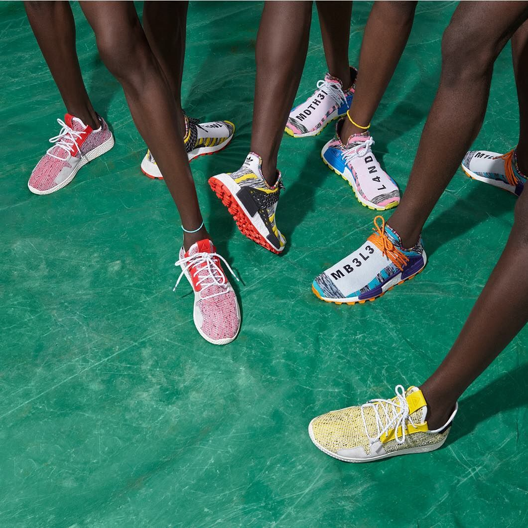 1ab1601e4be16 Are you feeling the new adidas Originals by Pharrell Williams SOLARHU  Collection  📷  by
