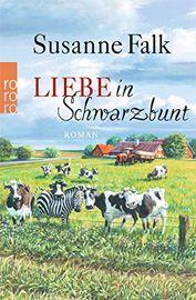 """Susanne Falk ist mit """"Liebe in Schwarzbunt"""" ein unterhaltsamer, kurzweiliger Roman gelungen, der den Leser für ein paar Stunden auf eine Reise ins Ungewisse mitnimmt."""