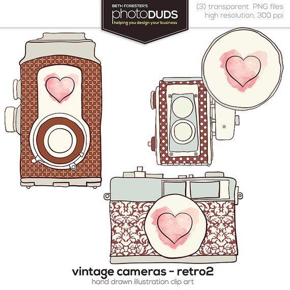 free retro camera clip art   ⎙ PRINT me for free   Pinterest ...