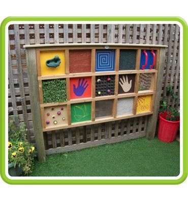 Tactile Panel | Playground, Gardens and Natural playgrounds
