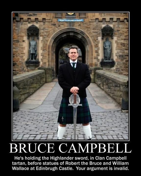 Bruce Campbell Quotes Bruce Campbell Your Argument Is Invalid