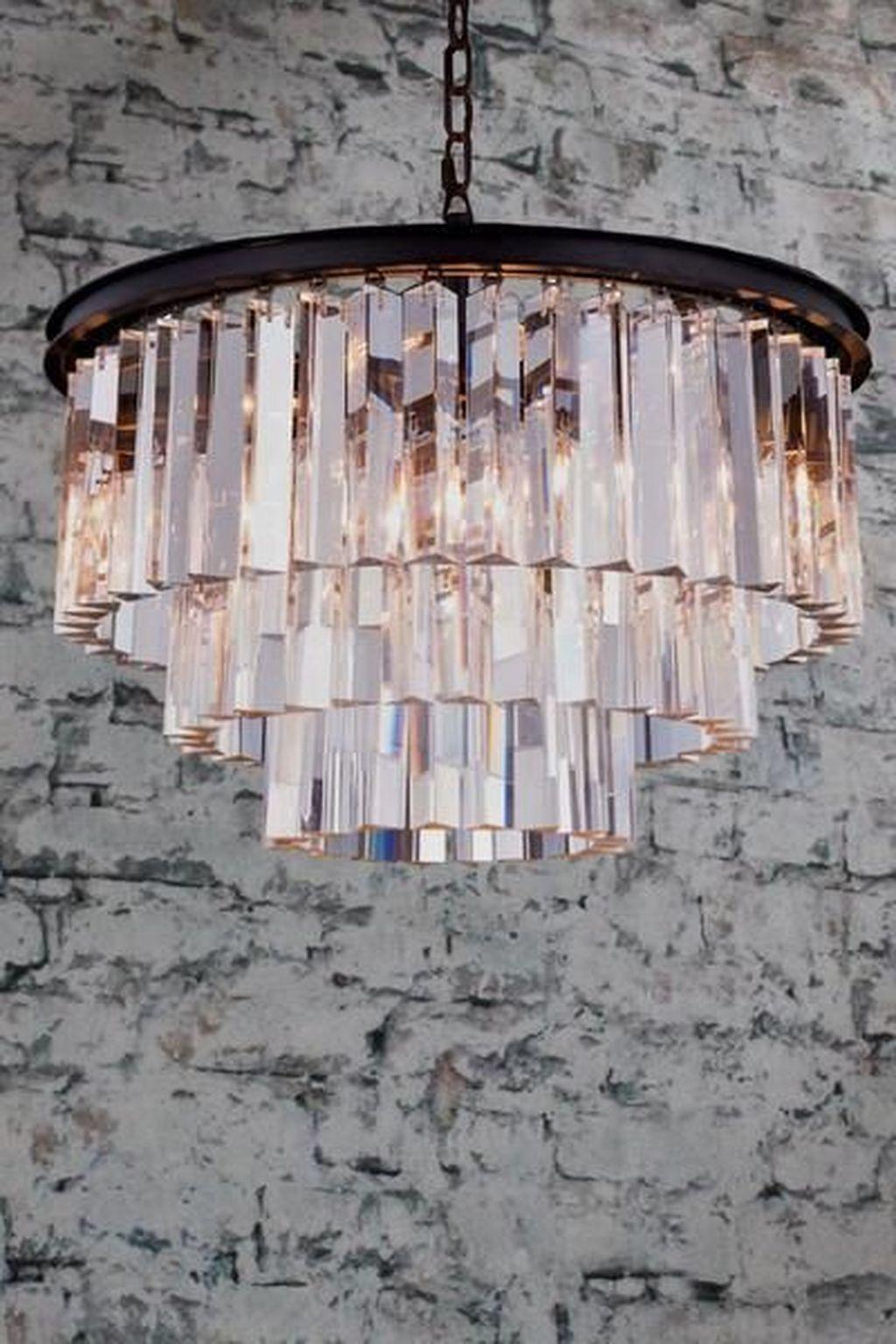 44 Beautiful Crystal Pendant Lighting Design Ideas Trendehouse Crystal Pendant Lighting Pendant Lighting Light Art
