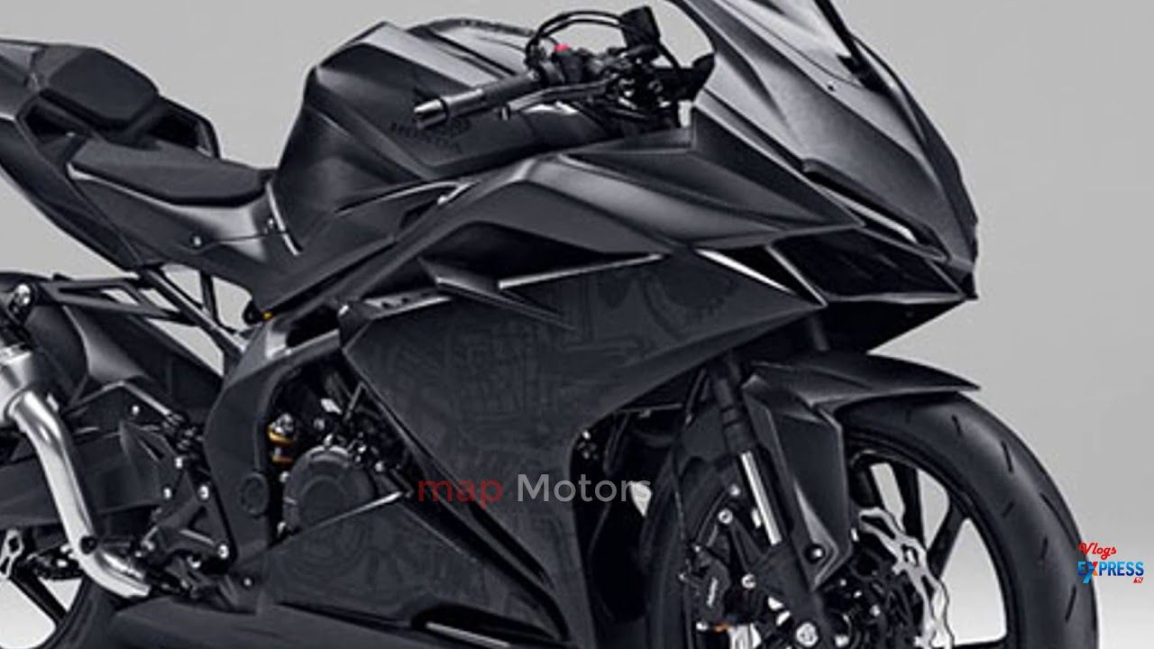 First Look Honda Cbr150r Black Matte Full View 2018 Map Motors