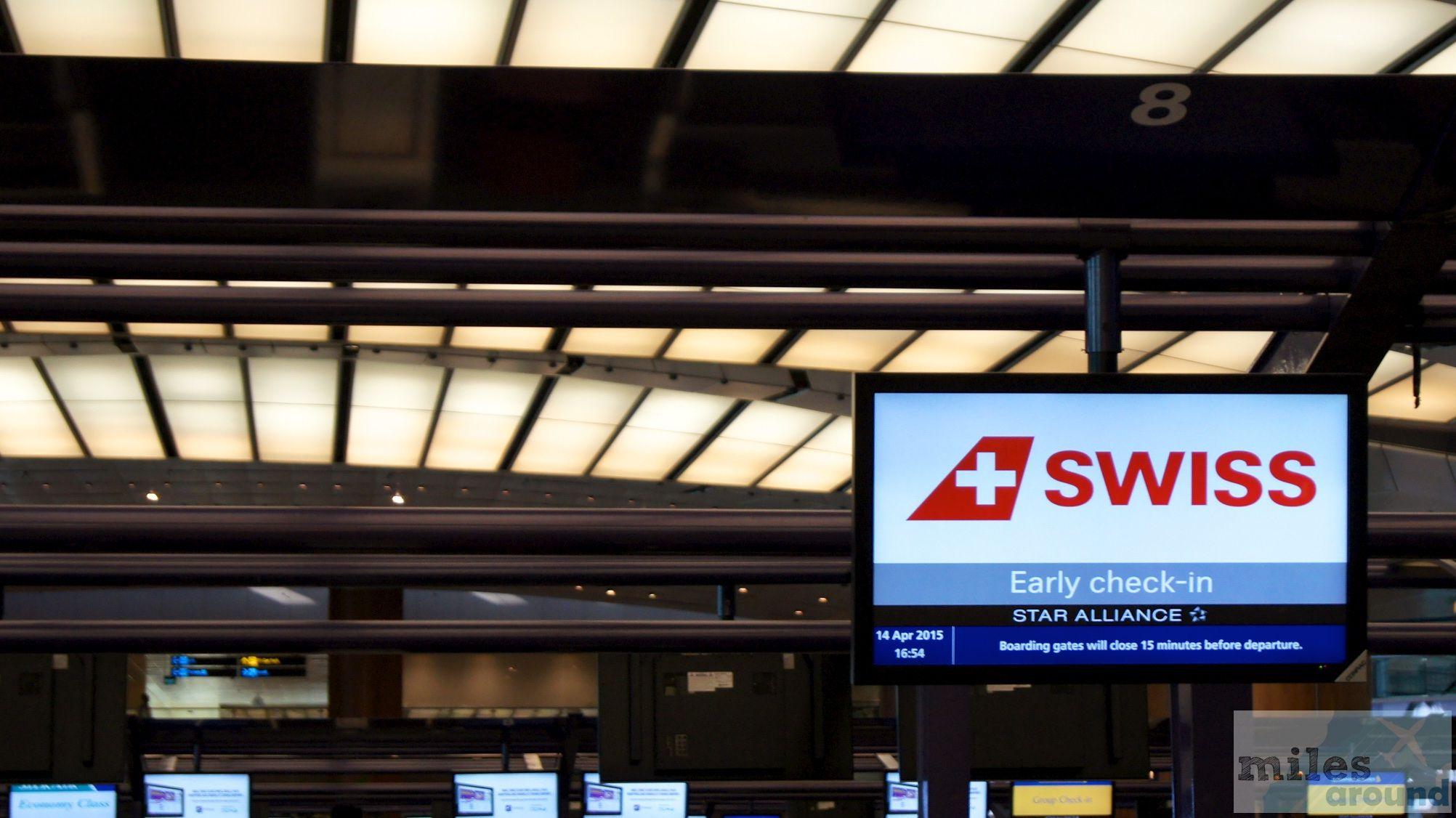 SWISS Airbus A340300 Economy Class, Singapur nach Zürich