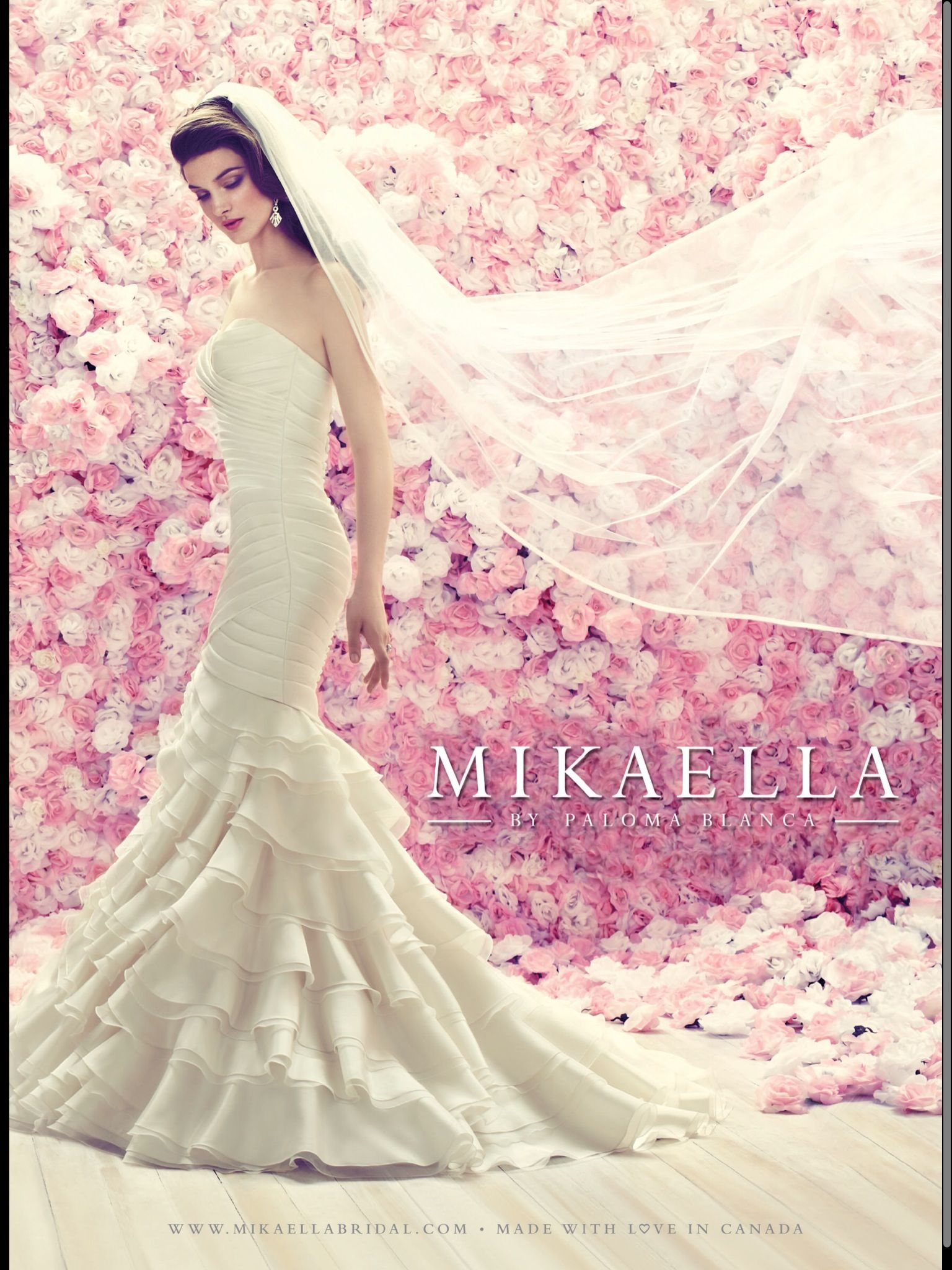 Mikaella by Paloma Blanca | Wedding dresses | Pinterest