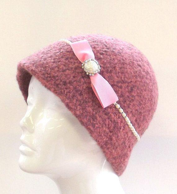Crochet Womens Hat     Handmade Cloche    by SophiesHatsandMore, $40.00
