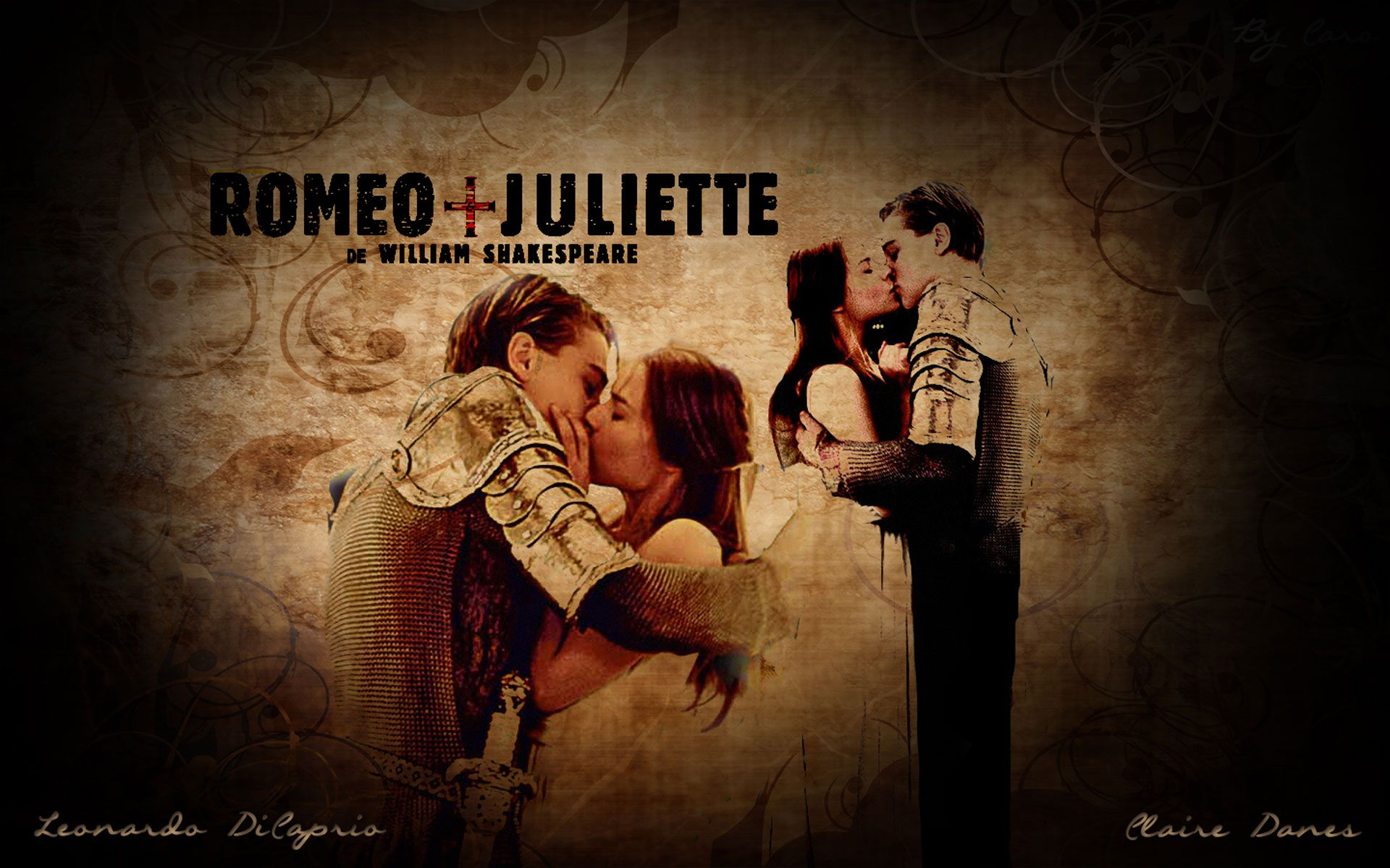 Romeo + Juliet (1996, wallpaper) Juliette, Roméo et