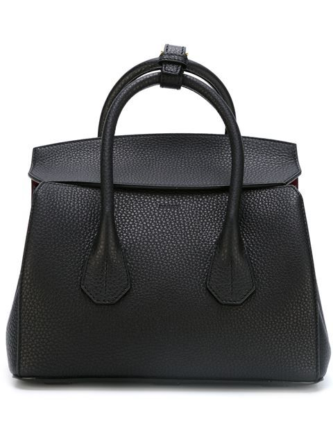 0255e123858f4 Shop Bally double handle tote bag in Tops! from the world s best  independent boutiques at farfetch.com. Shop 400 boutiques at one address.