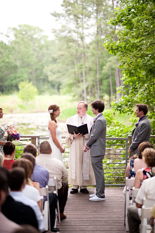 Houston Arboretum Outdoor Wedding In Nature