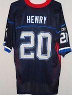 0c96afb45 Travis Henry Buffalo Bills jersey size M Reebok navy blue