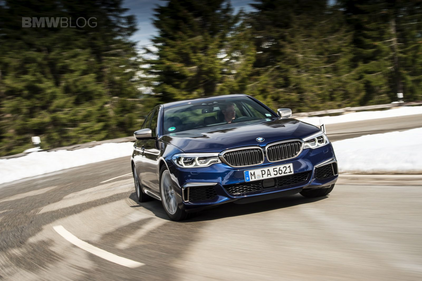 First Drive The Fastest 5 Series Ever Bmw M550i Xdrive Bmw