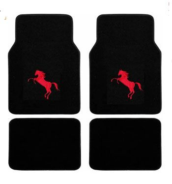 Rearing Horse Car Floor Mats All Things Equine Pinterest Horse