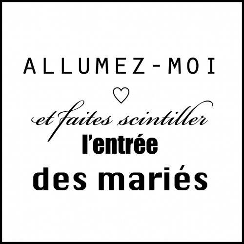 Diy Etiquettes Pour Presenter Vos Cierges Magiques Blog Mariage