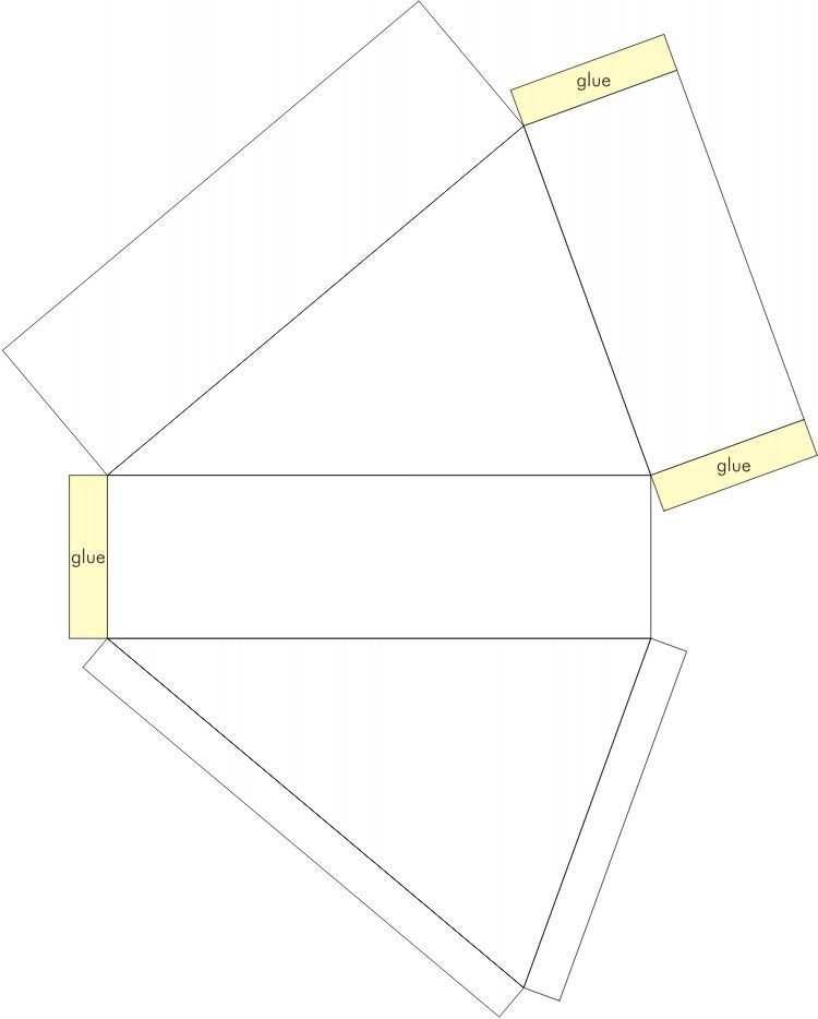 Free Circular Cake Slice Box Template Click Onto Image To Enlarge And Save Your