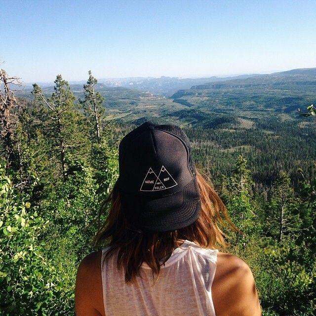 Venn Diagram trucker hat in black in the wild.  poler  polerstuff  campvibes e33a2318bd81